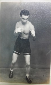 Dad as boxer