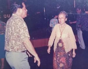 Mama dancing