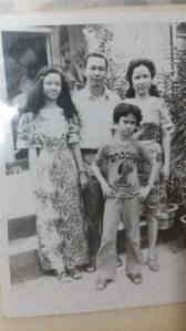 Parents and 2 girls